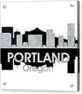 Portland Or 4 Acrylic Print