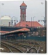 Portland Oregon Union Station Train Station Acrylic Print