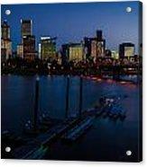Portland Skyline 2 Acrylic Print