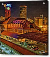 Portland Union Train Station Two Acrylic Print
