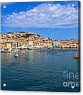Portoferraio - View From The Sea Acrylic Print