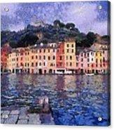 Portofino In Italy Acrylic Print