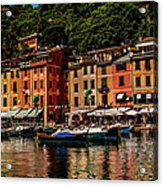 Portofino Italy Acrylic Print by Xavier Cardell