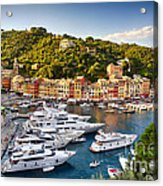 Portofino Summer Afternoon Acrylic Print by George Oze