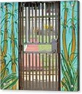 Porton Cerrado Acrylic Print