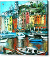 Portovenere Acrylic Print