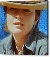 Portrait From The Middle Eightieth Acrylic Print