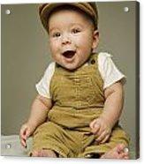 Portrait Of A Baby Boy Acrylic Print