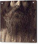 Portrait Of A Bearded Man Acrylic Print