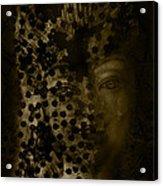 Portrait Of A Leopardess  Acrylic Print