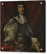 Portrait Of A Man, Thought To Be Christoffel Van Gangelt Acrylic Print
