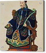 Portrait Of A Mandarin Acrylic Print