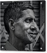 Portrait Of A Stranger Acrylic Print