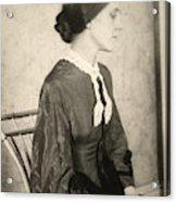 Portrait Of A Woman, C1895 Acrylic Print