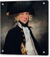 Portrait Of A Young Midshipman, C.1796 Acrylic Print