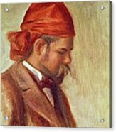Portrait Of Ambroise Vollard 1868-1939 Oil On Panel Acrylic Print