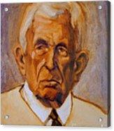Portrait Of An Older Man Acrylic Print