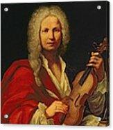 Portrait Of Antonio Vivaldi Acrylic Print
