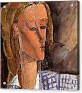 Portrait Of Beatrice Hastings Acrylic Print