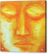 Portrait Of Buddha Acrylic Print