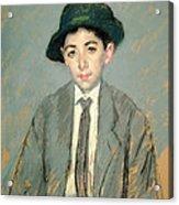 Portrait Of Charles Dikran Kelekian Acrylic Print