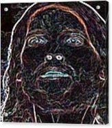 Portrait Of Christ Acrylic Print