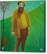 Portrait Of Claude Monet Acrylic Print