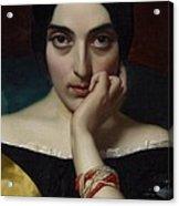 Portrait Of Clementine Acrylic Print