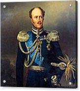 Portrait Of Count Alexander Benkendorff Acrylic Print