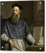 Portrait Of Daniele Barbaro Acrylic Print