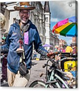 Portrait Of Doctor Luv In New Orleans Acrylic Print