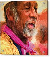 Portrait Of Dr. Luv - Painting Acrylic Print