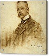 Portrait Of Emile Bertaux Acrylic Print