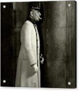 Portrait Of Erich Von Stroheim Acrylic Print