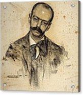 Portrait Of Gabriel Alomar Acrylic Print