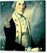 Portrait Of George Washington Acrylic Print by James the Elder Peale
