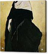 Portrait Of Ida Lvovna Rubinstein Acrylic Print