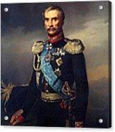 Portrait Of Illarion Vasilyevich Vasilchikov Acrylic Print