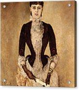 Portrait Of Isabella Reisser Acrylic Print