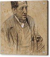 Portrait Of Iscle Soler Acrylic Print