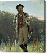 Portrait Of Ivan Ivanovich Shishkin Acrylic Print