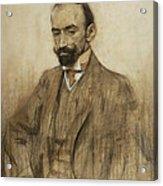 Portrait Of Jacinto Benavente Acrylic Print