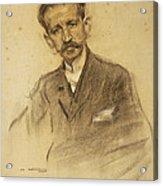 Portrait Of Jacinto Octavio Picon Acrylic Print