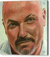 Portrait Of Jamez Ronald Prudlick Acrylic Print
