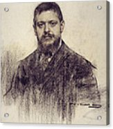 Portrait Of Jaume Carner Acrylic Print