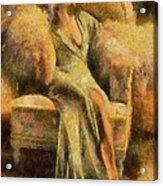 Portrait Of Jean Harlow Acrylic Print