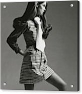 Portrait Of Jean Shrimpton Acrylic Print