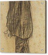 Portrait Of Joan Gay  Acrylic Print