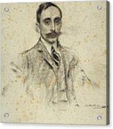Portrait Of Joan Ventosa Acrylic Print