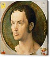 Portrait Of Johannes Kleberger Acrylic Print